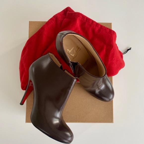 72d2a256456 Christian Louboutin Belle Eden 100 boots